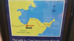 Map of Cape Huay