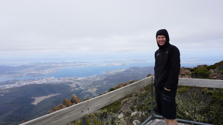 top of Mount Wellington