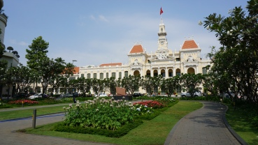 City Hall Ho Chi Minh City